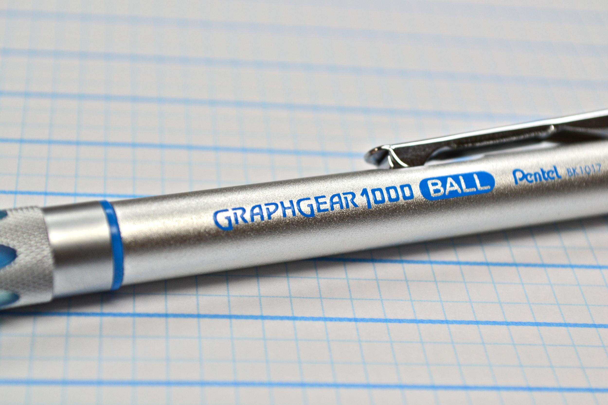 Pentel Graph Gear 1000 Ballpoint Pen Review