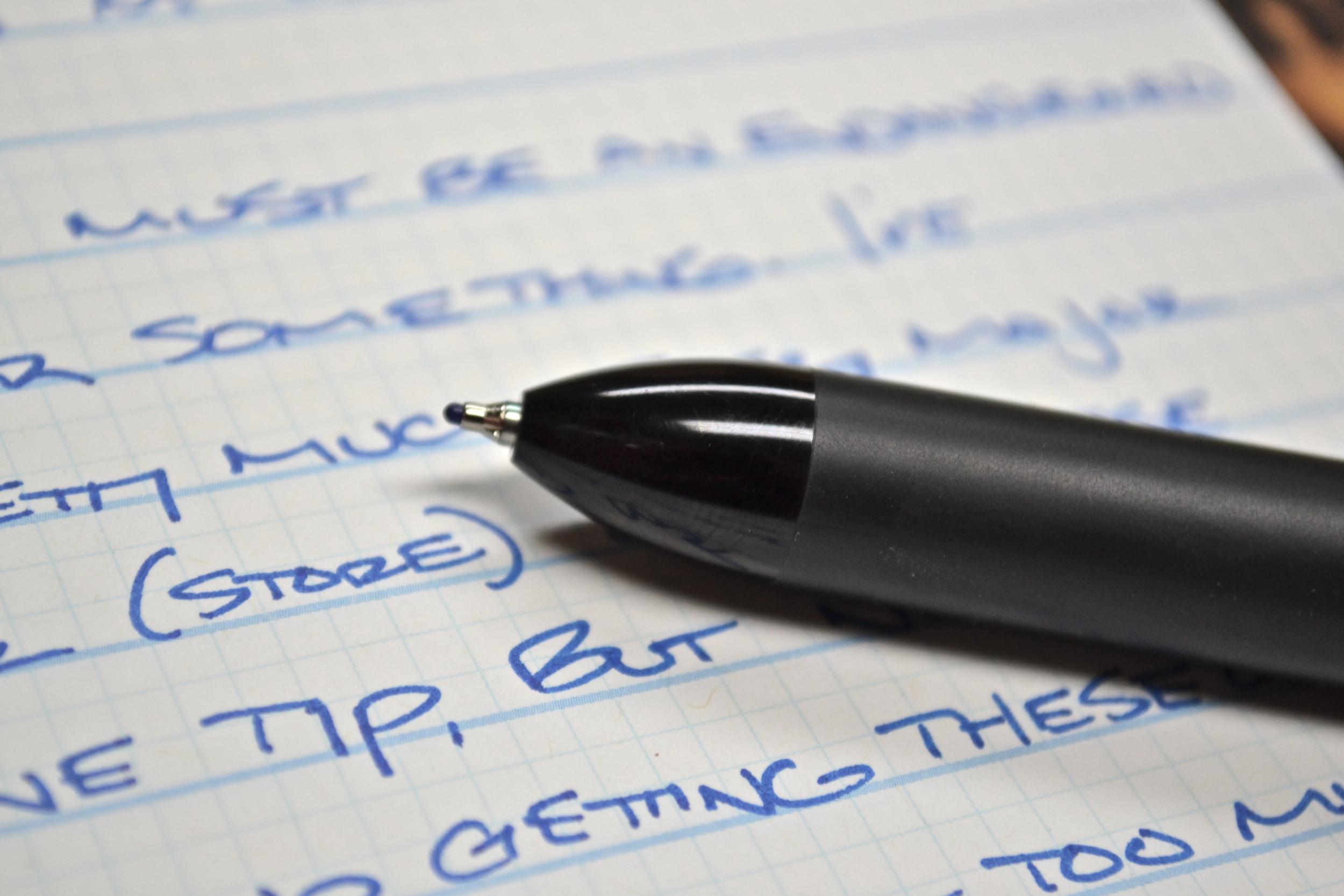 Sharpie Pen Retractable Review