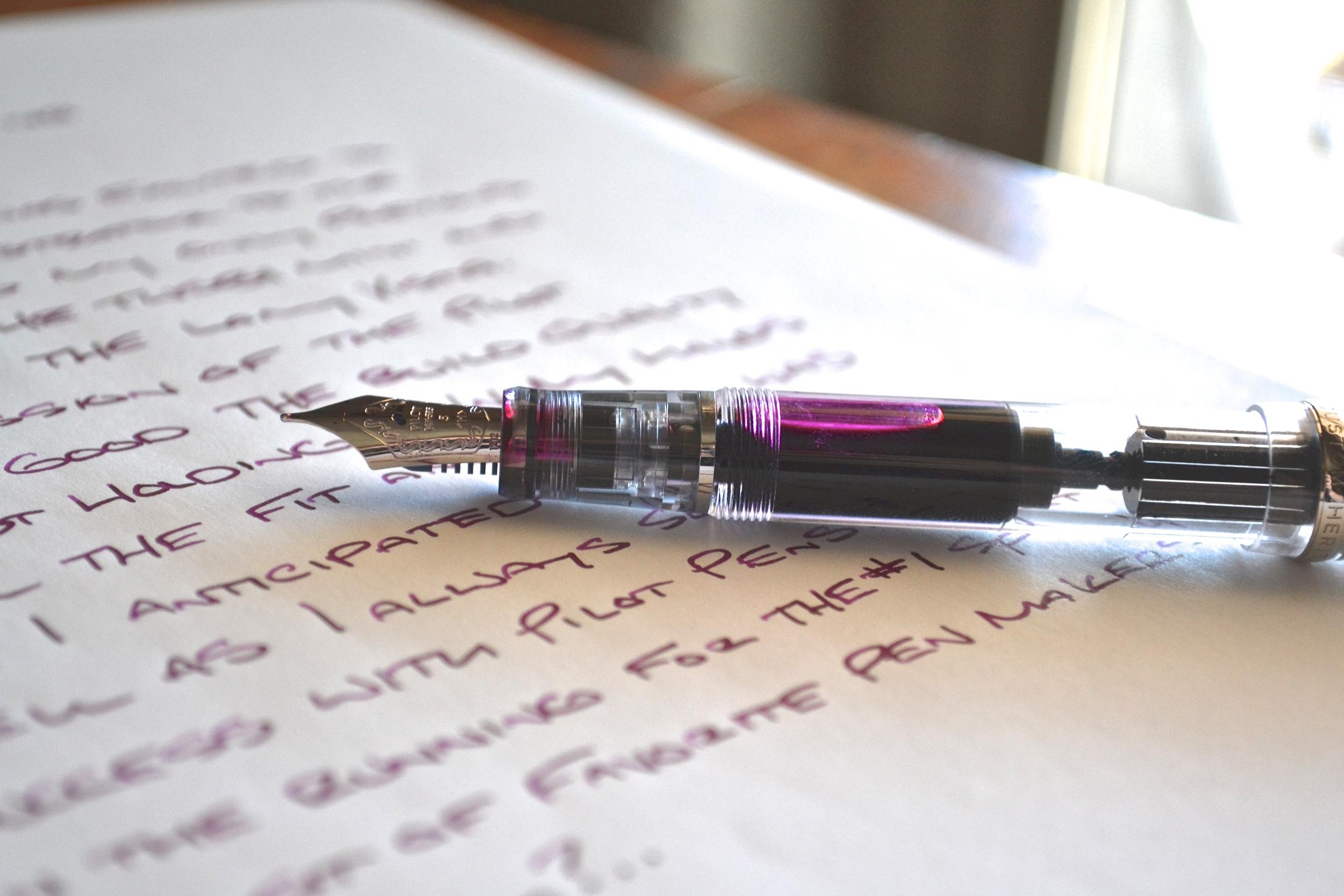 Pilot Custom Heritage 92 Demonstrator Fountain Pen Review