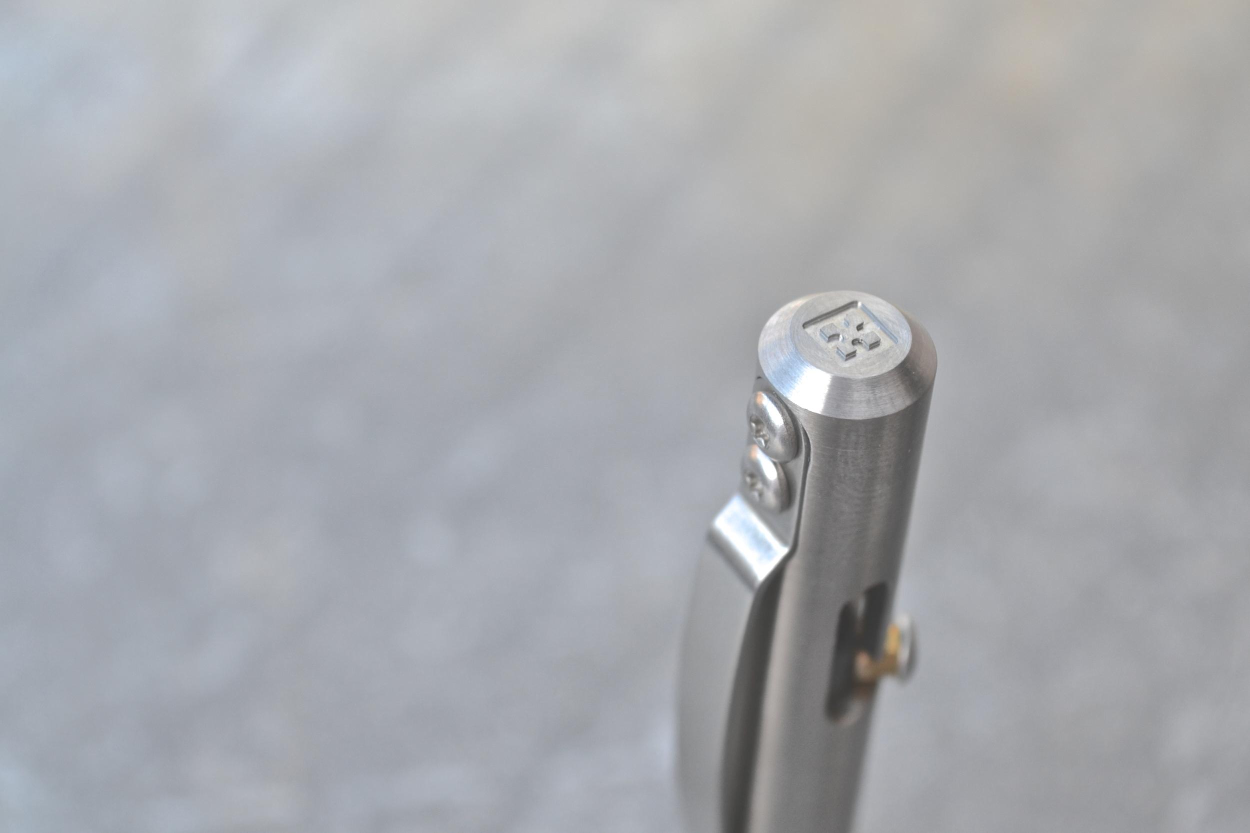 Titanium MaxmadcoBolt Action Retractable Pen Review