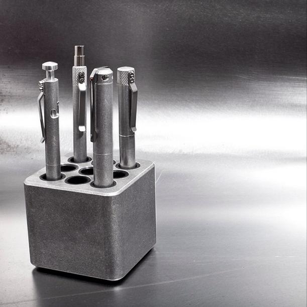 The Cube (CU13E) in Tumbled Aluminum