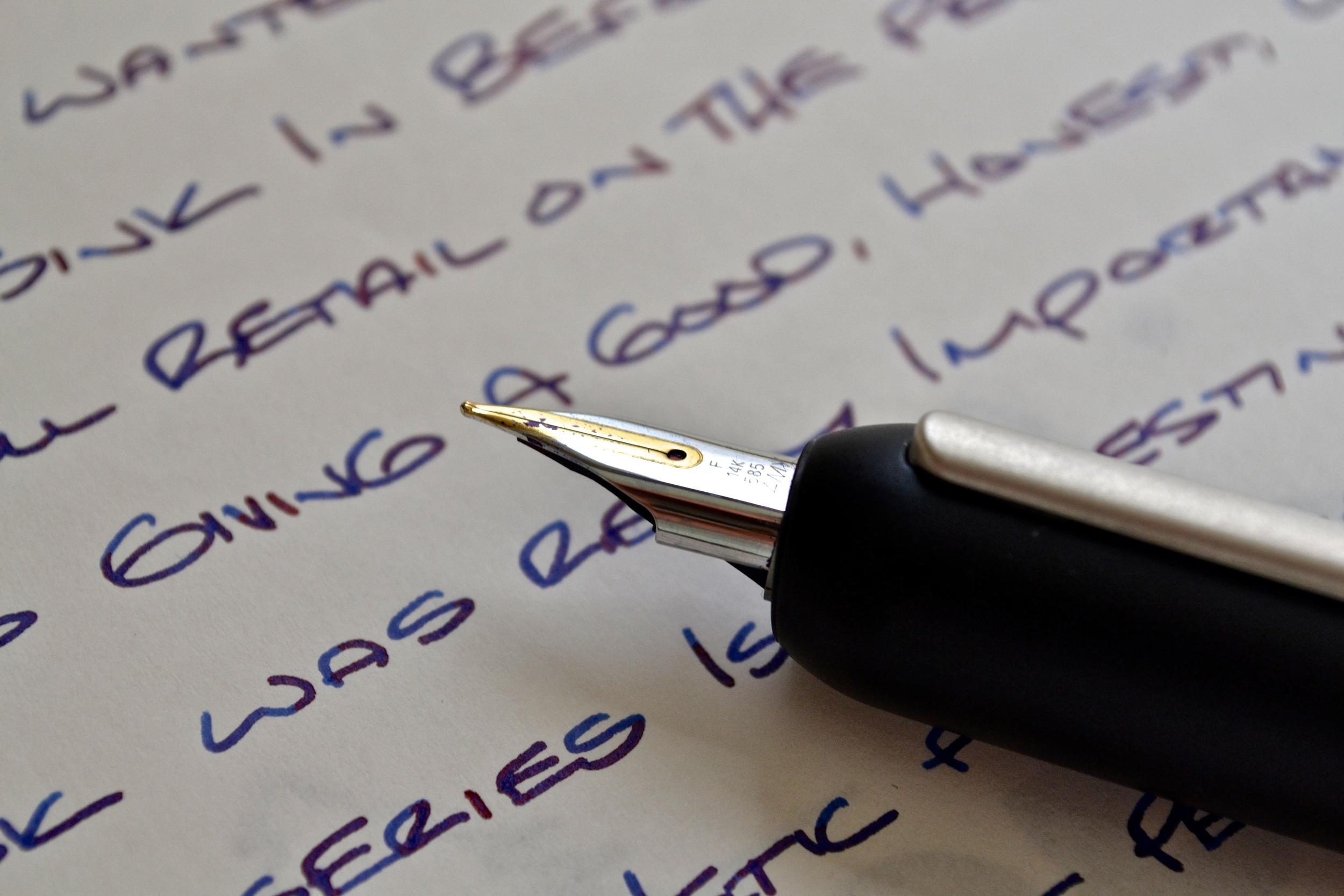 Lamy Dialog 3 Fountain Pen Nib