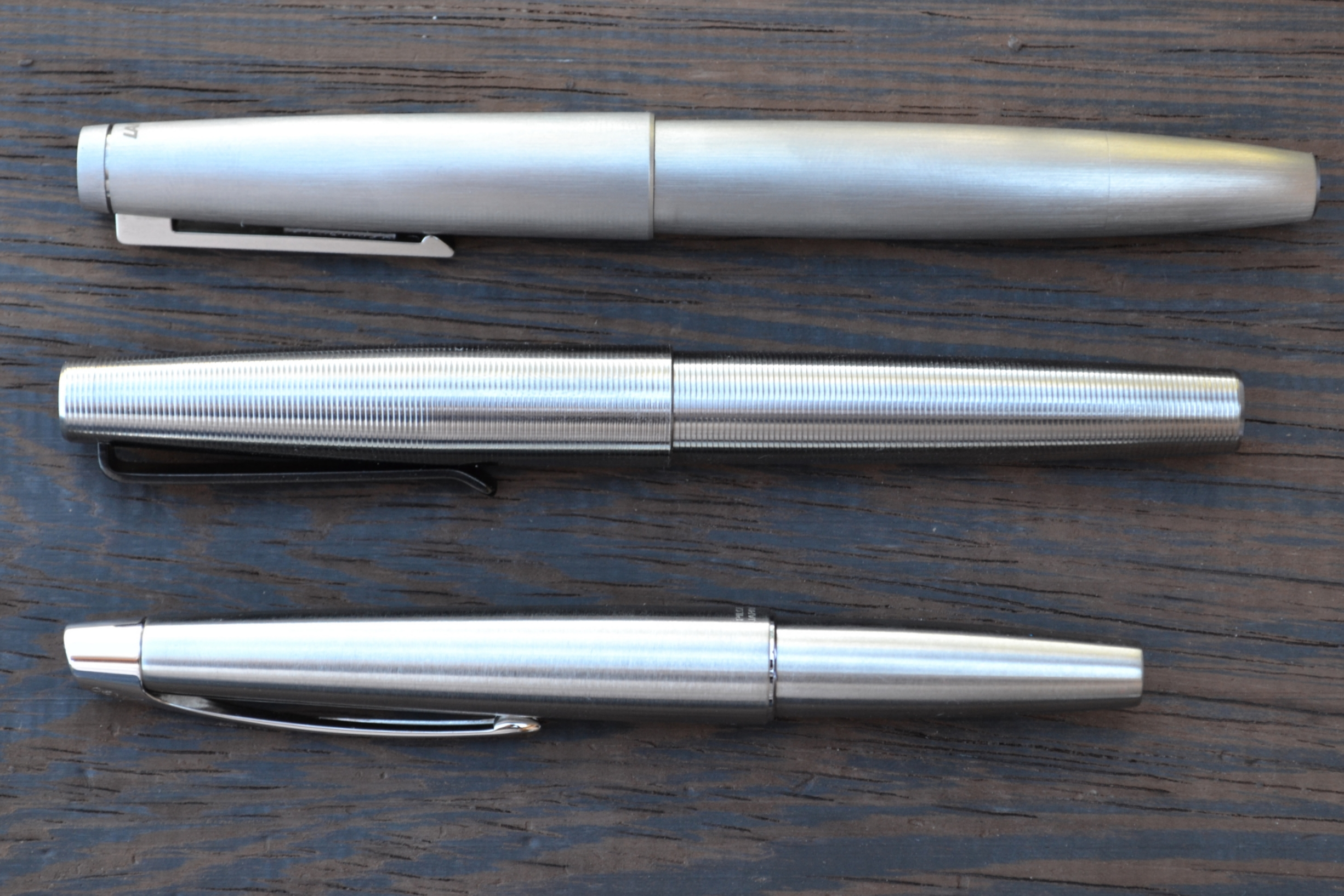 Stainless LAMY 2000, Tactile Turn Gist, Pilot M90