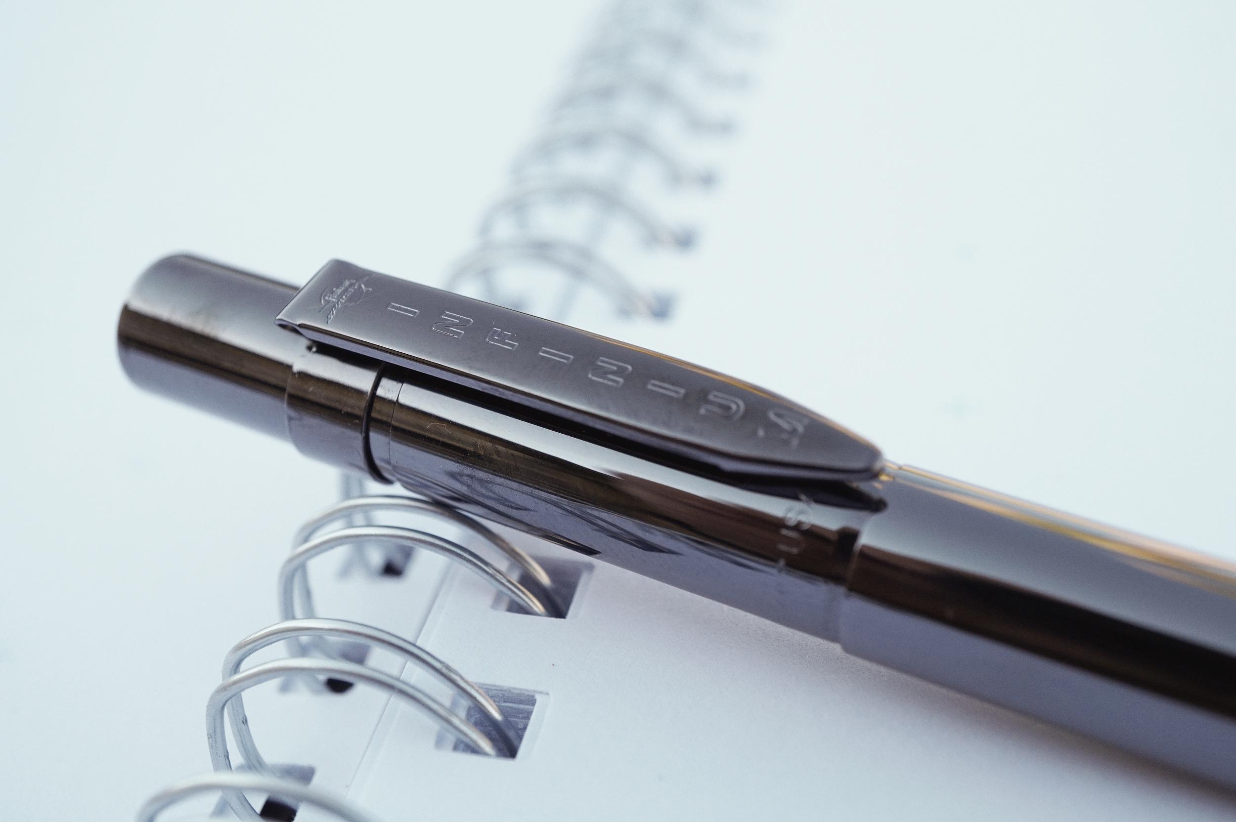 Fisher Space Pen Infinium - Titanium Nitride — The Clicky Post