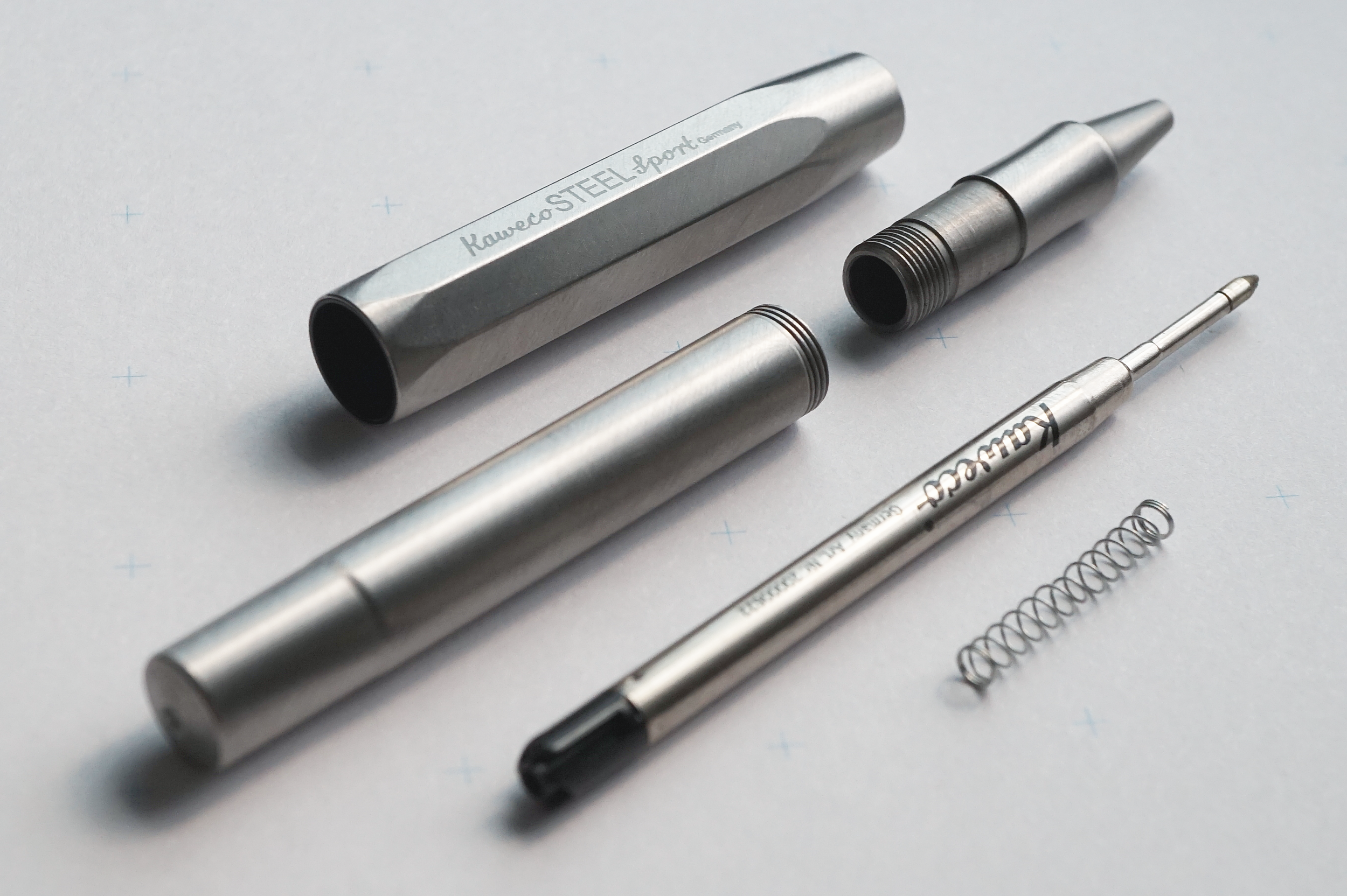 Kaweco Sports Steel Roller Ball Made of Stainless Steel #