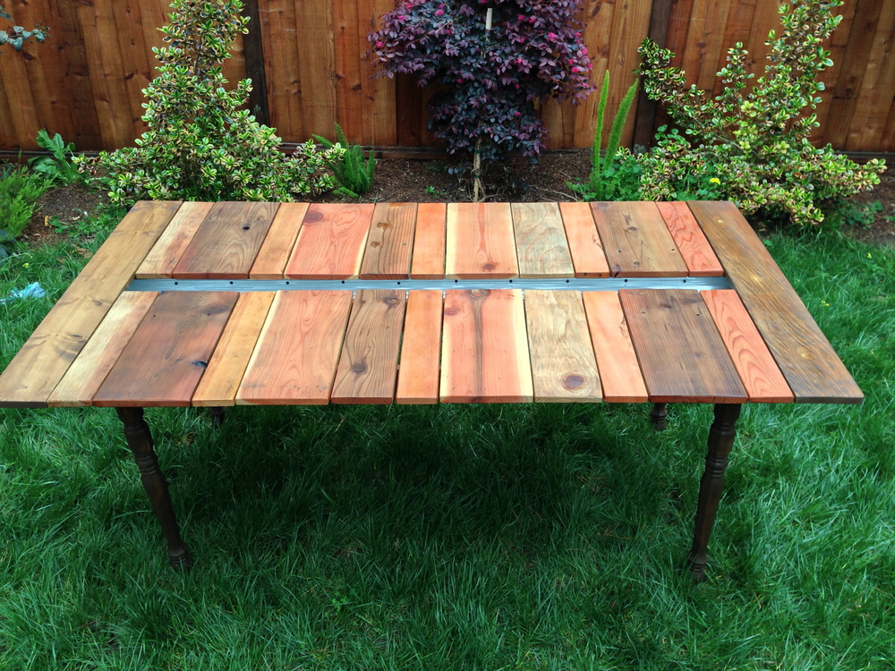 Picnic Table With Planter And Benches Katie Jackson Woodworks