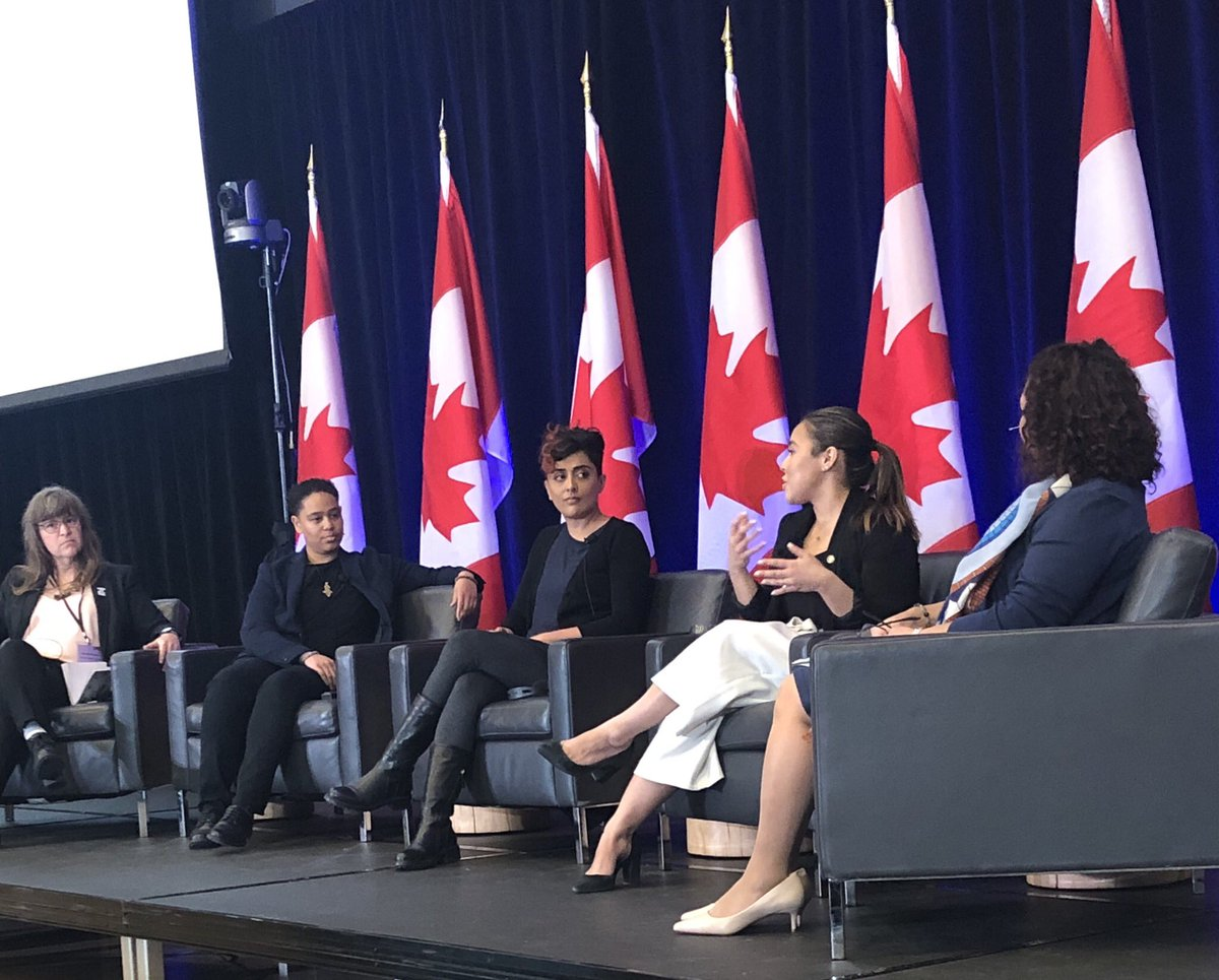 Labour Canada's #WomenInTheWorkplace Event, Toronto, 2019