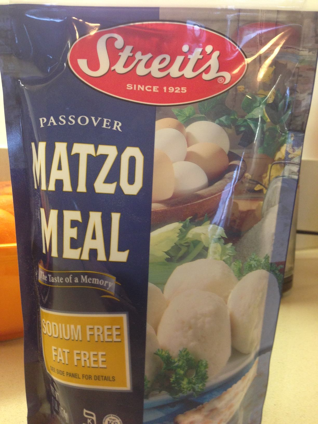 Matzo Meal (Obviously)