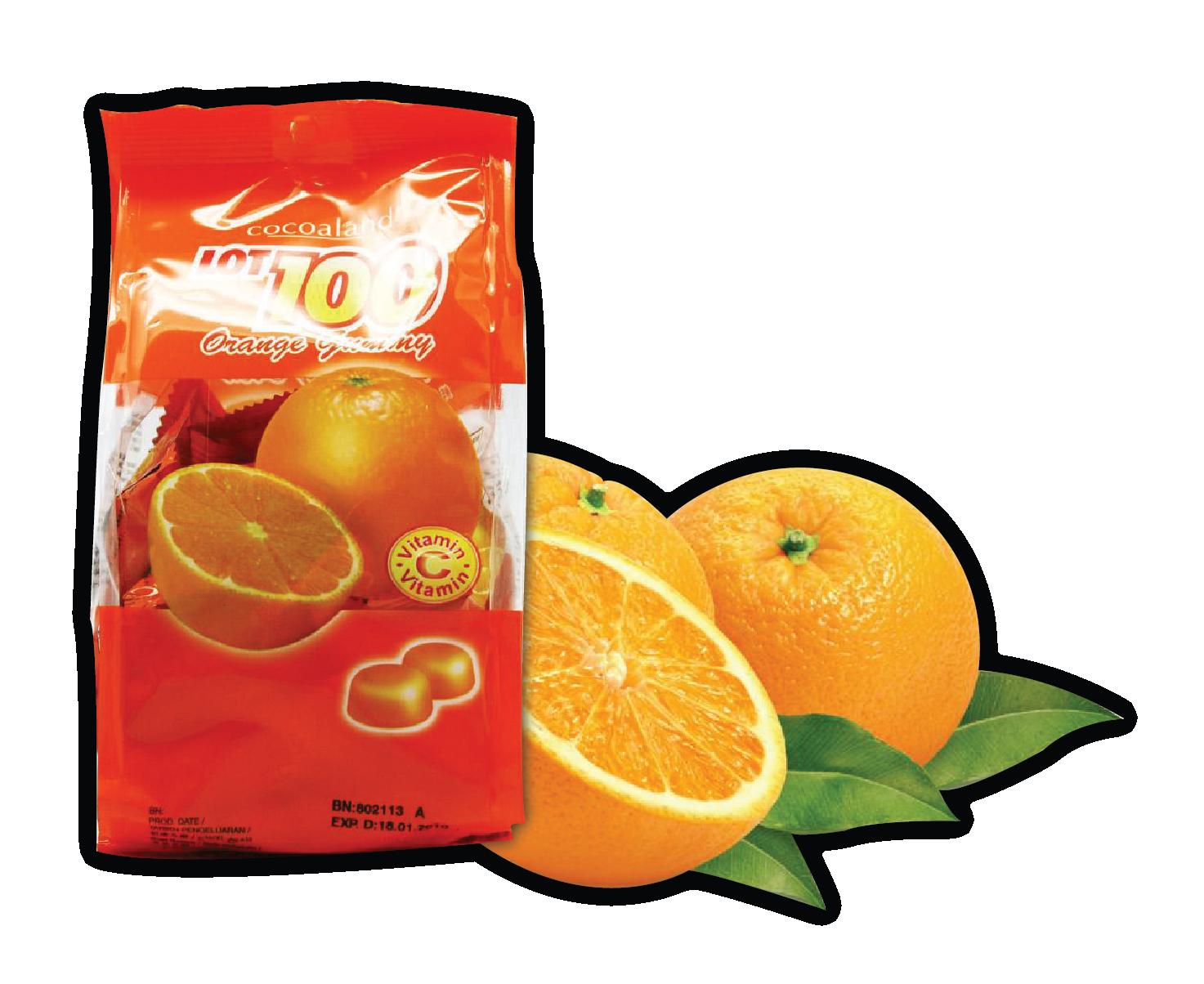 Orange Gummy