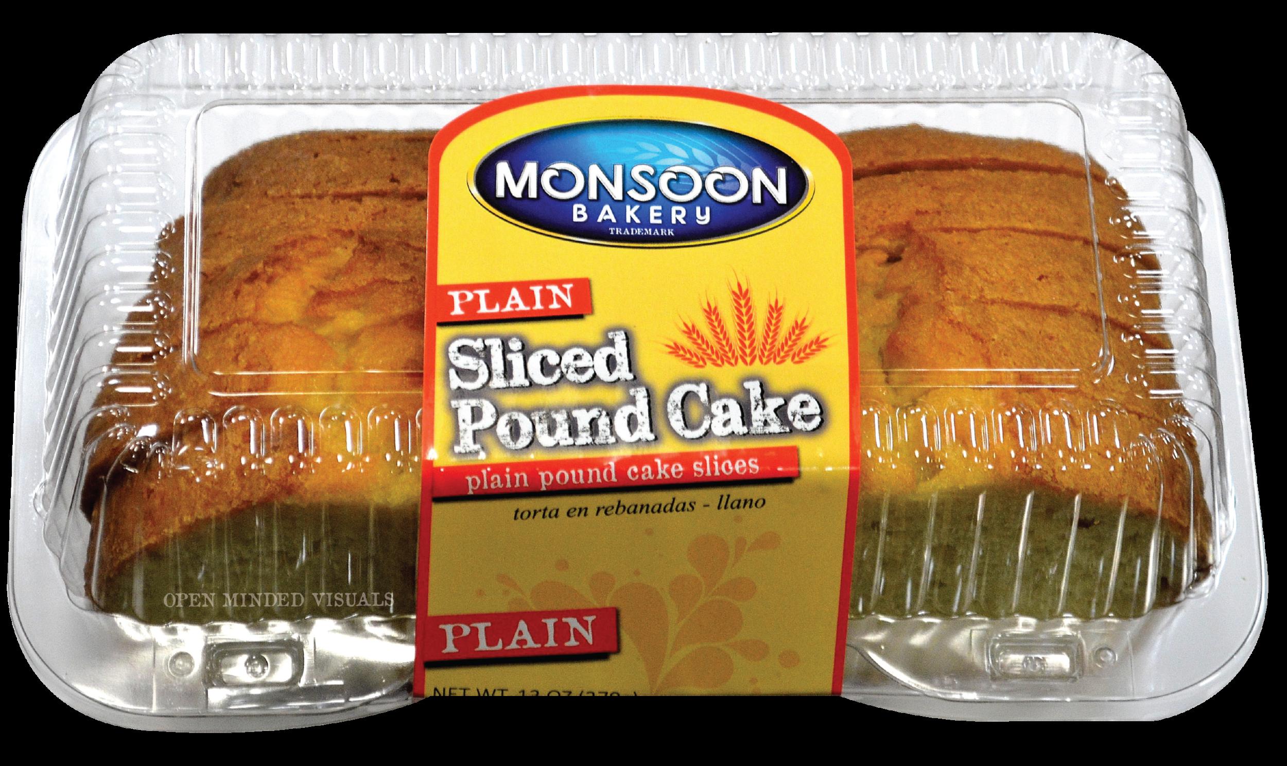 Plain Sliced Pound Cake