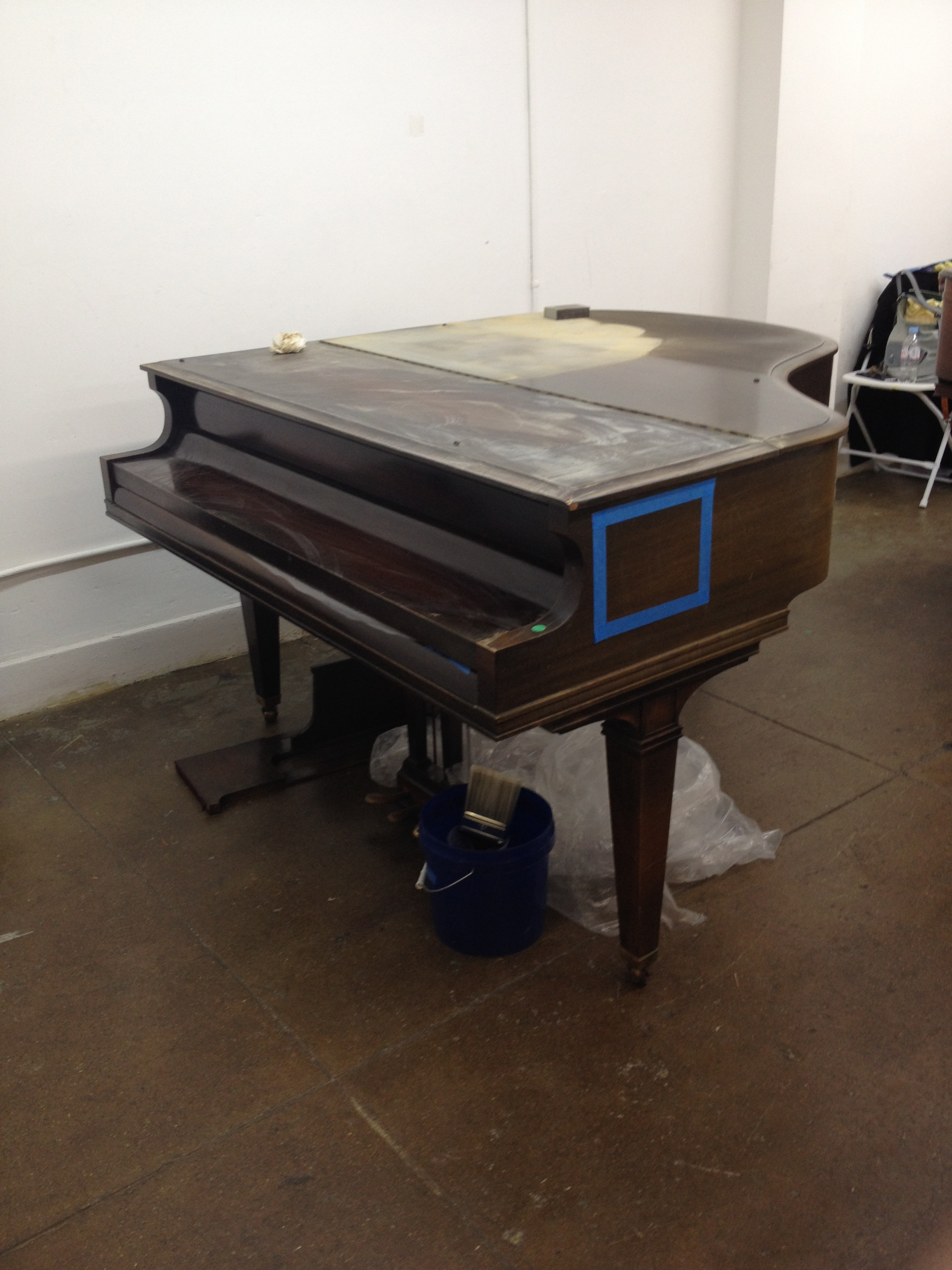 The untouched piano