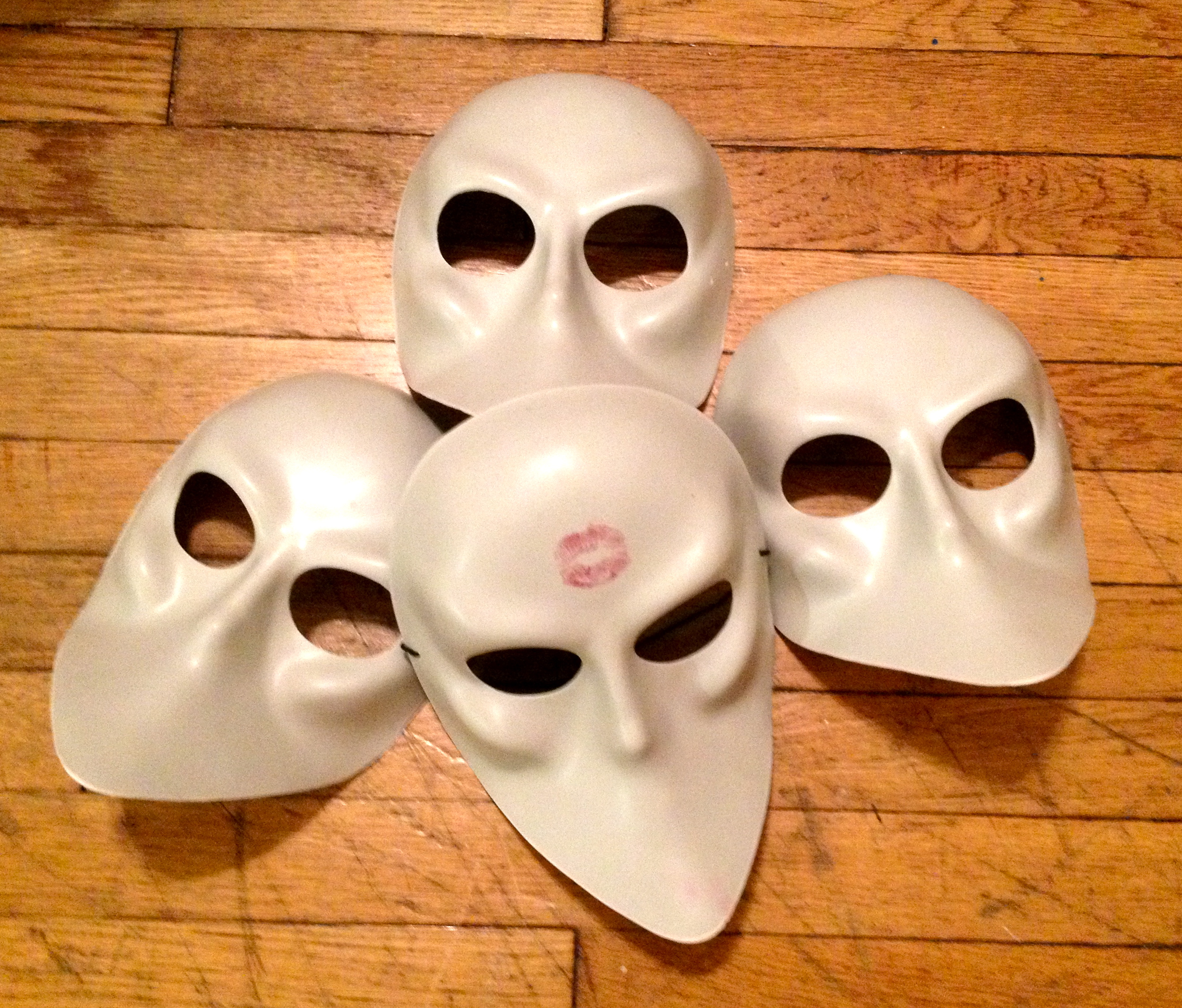 "Yes, I've seen "" Sleep No More "" a few times but not THAT many.  Friends give them to me.  I can't imagine why..."