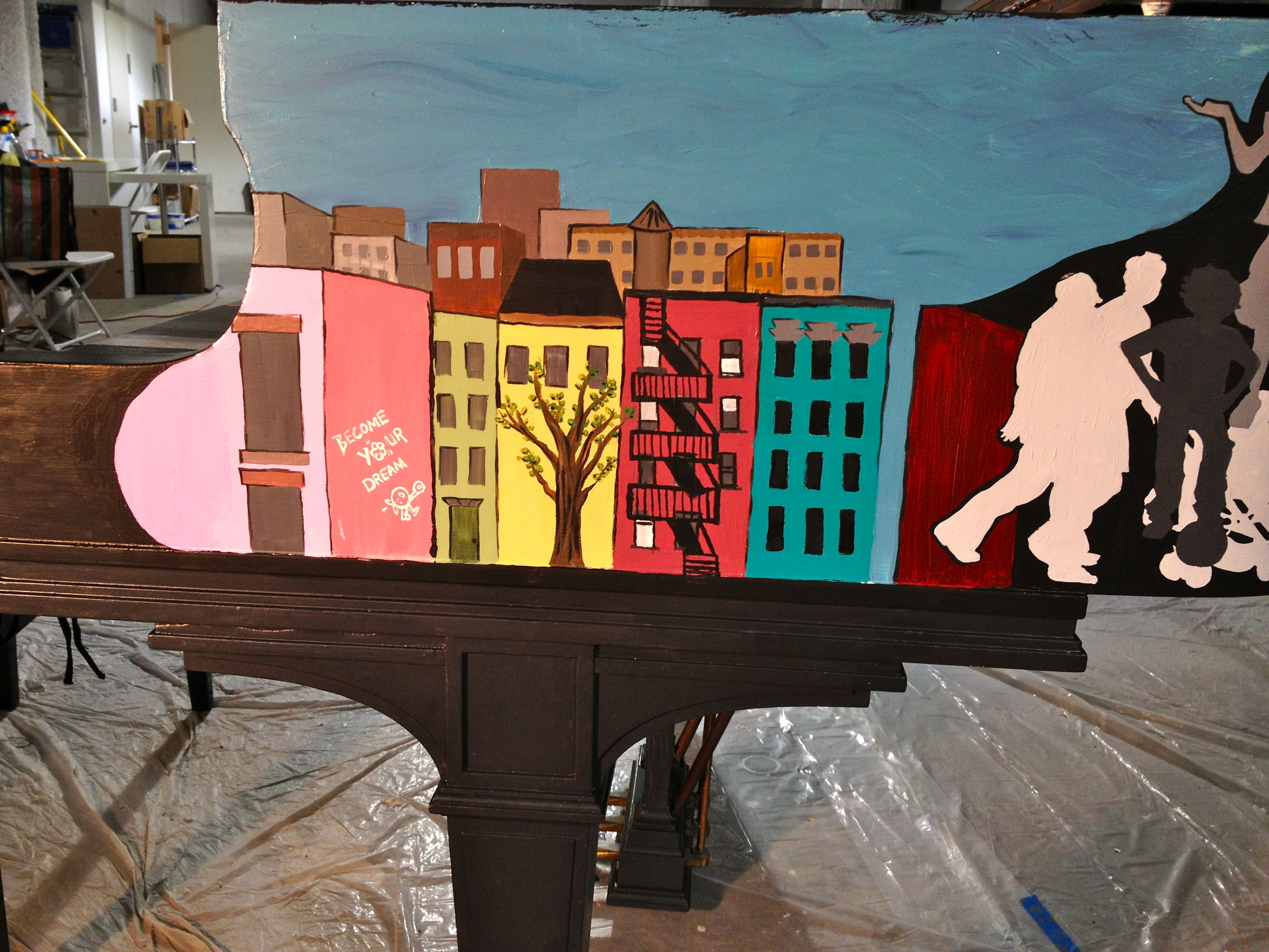 Student Work Detail - Piano in Progress