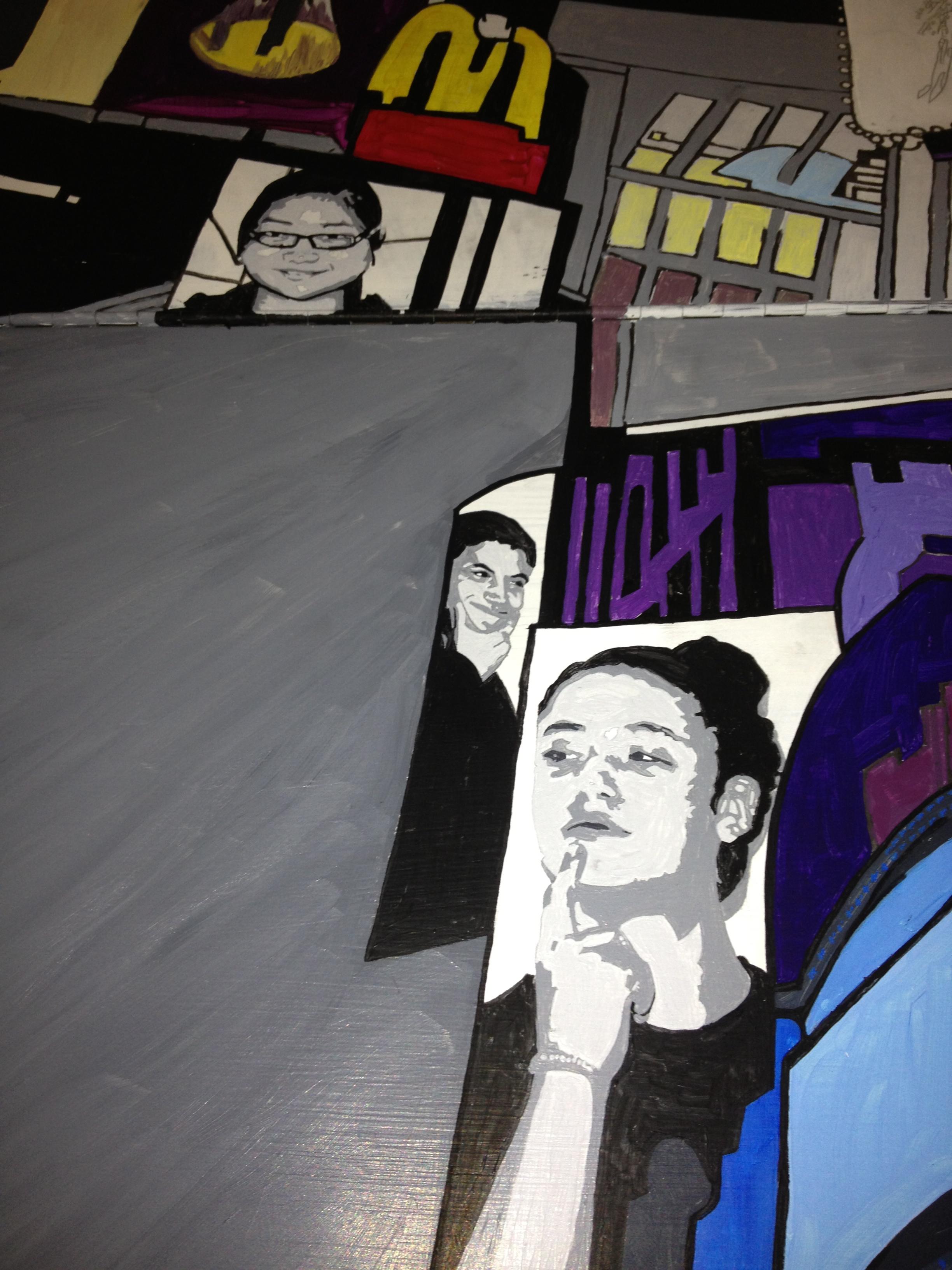 Portraits in Progress