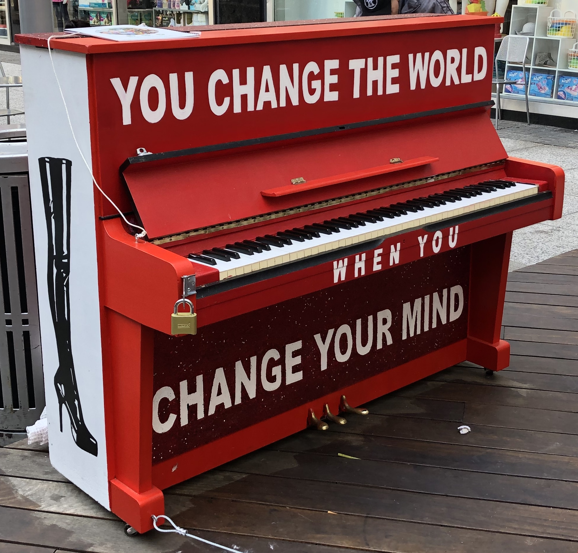 """""""Kinky Boots"""" - """"You Change the World When You Change Your Mind"""" 2018 Sing for Hope Piano"""