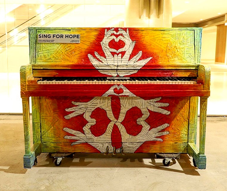 """""""Love is in Your Hands"""" Sing for Hope Piano2019"""