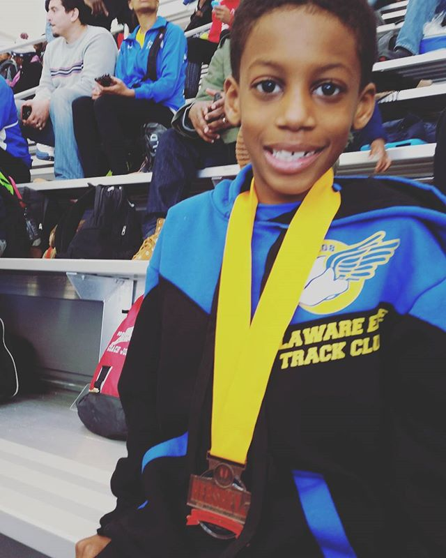 Woohooo!!! Chase -- 4th place in 400M for 7-8 y.o. group/Hershey National Championship Finals!!! You fought hard, persevered, and accomplished so much this wknd!!! Above and beyond my expectations! Xoxo  #proudmama