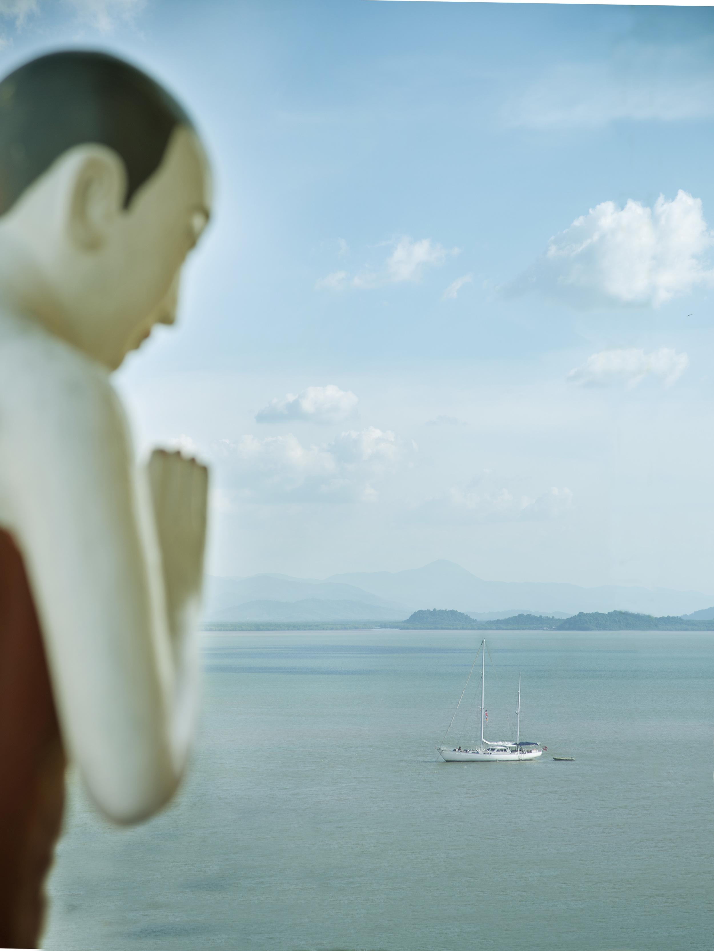 Boat and Buddha