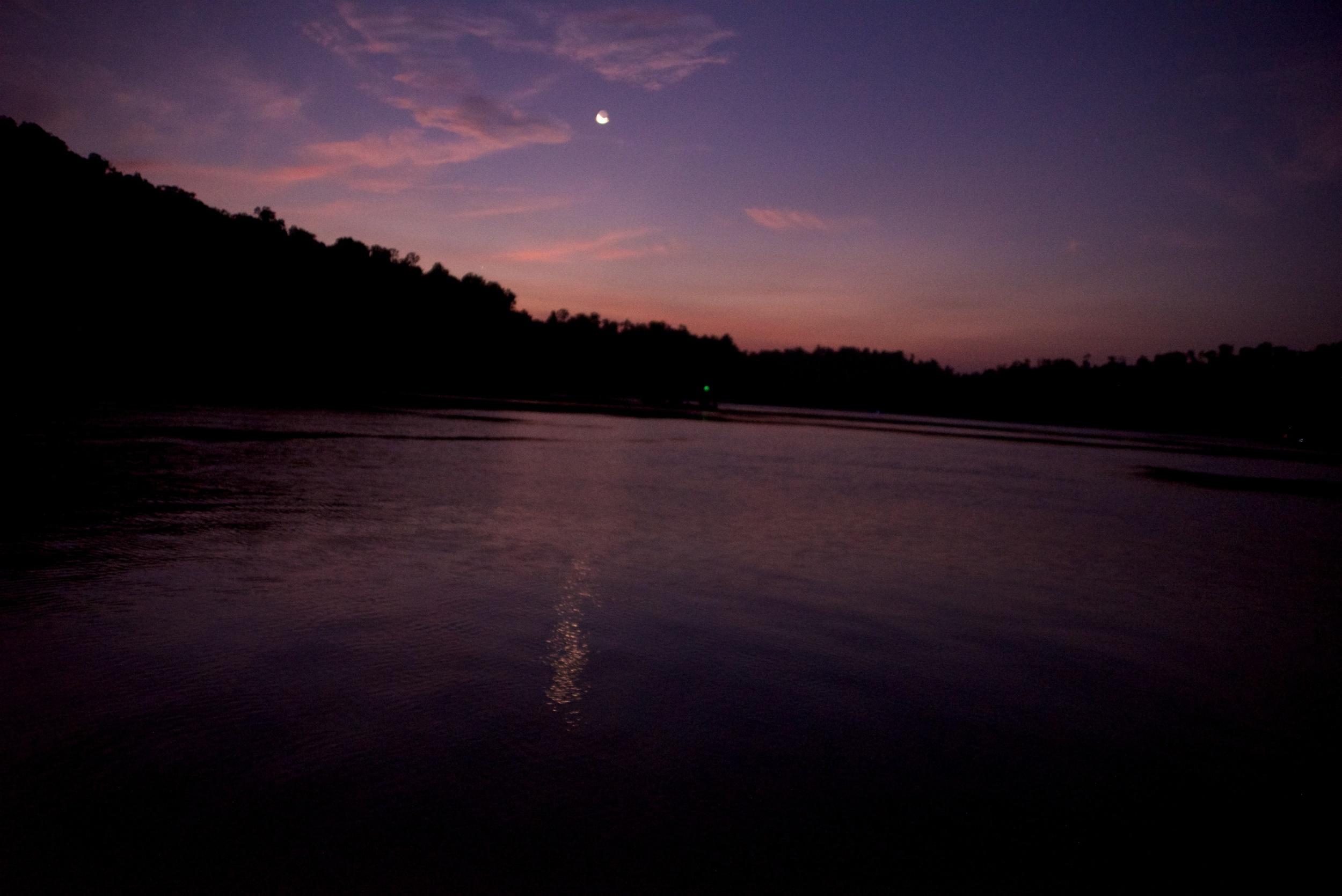 Sunset in the Mergui Archipelago