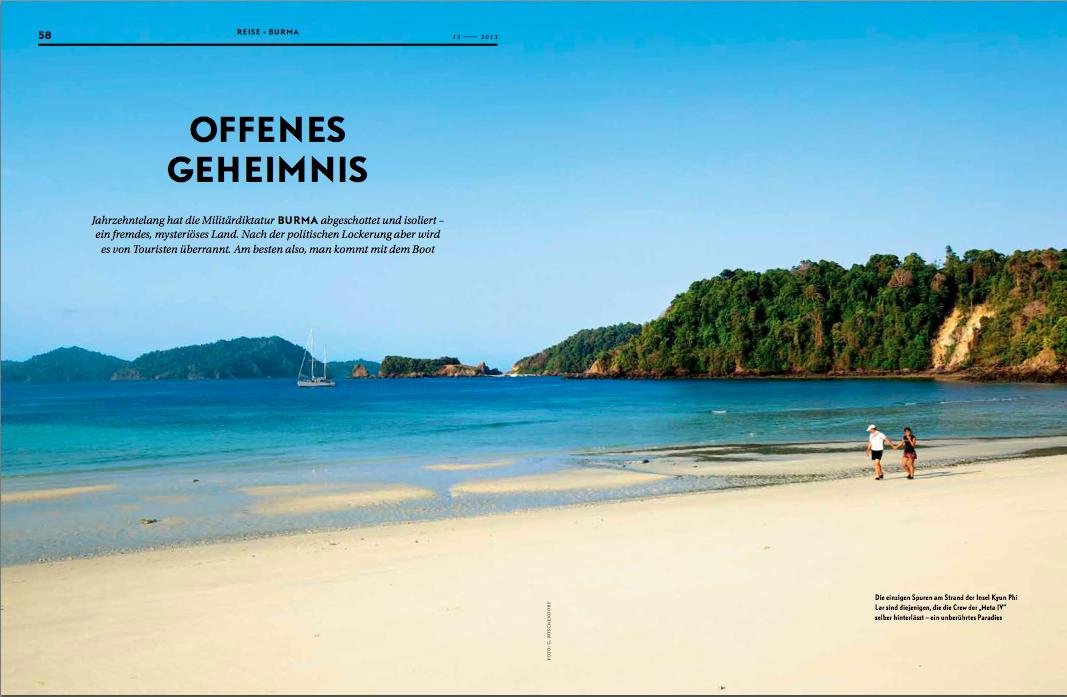 Myanmar Mergui Andaman Sea yacht holiday and cruising