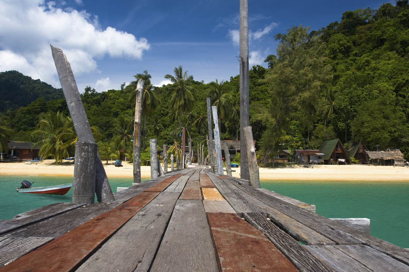 Beach village Borneo sailing yacht charter.jpeg