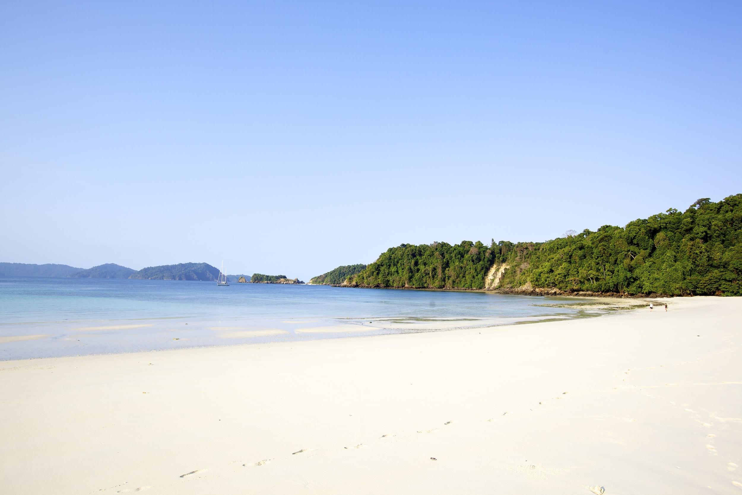 Pilar island Myanmar Mergui Burma beach