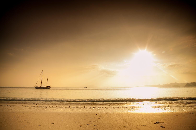 sundown at the Mergui beaches