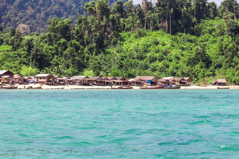 Mergui tribe village