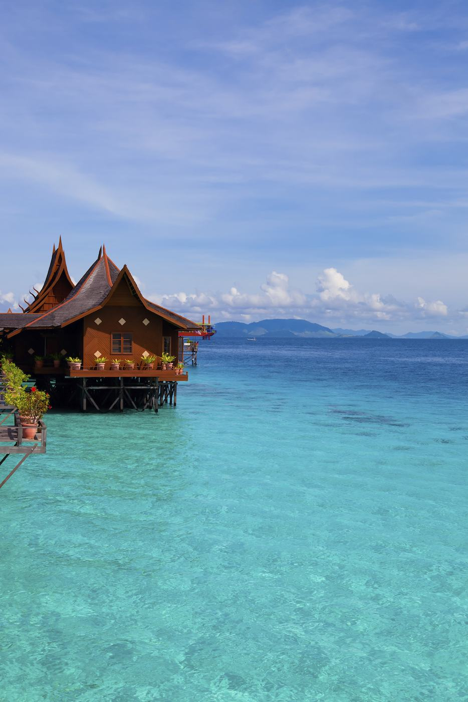 Stilt house Borneo sailing yacht charter.jpeg