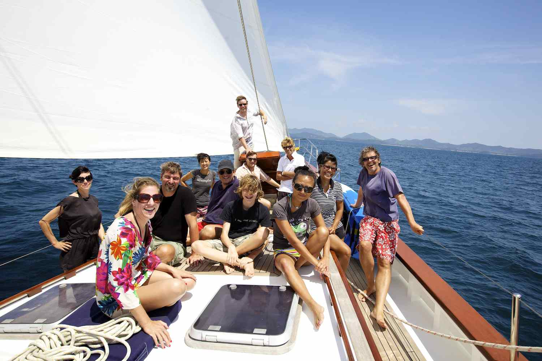 myanmar borneo yacht charter rent beaches islands