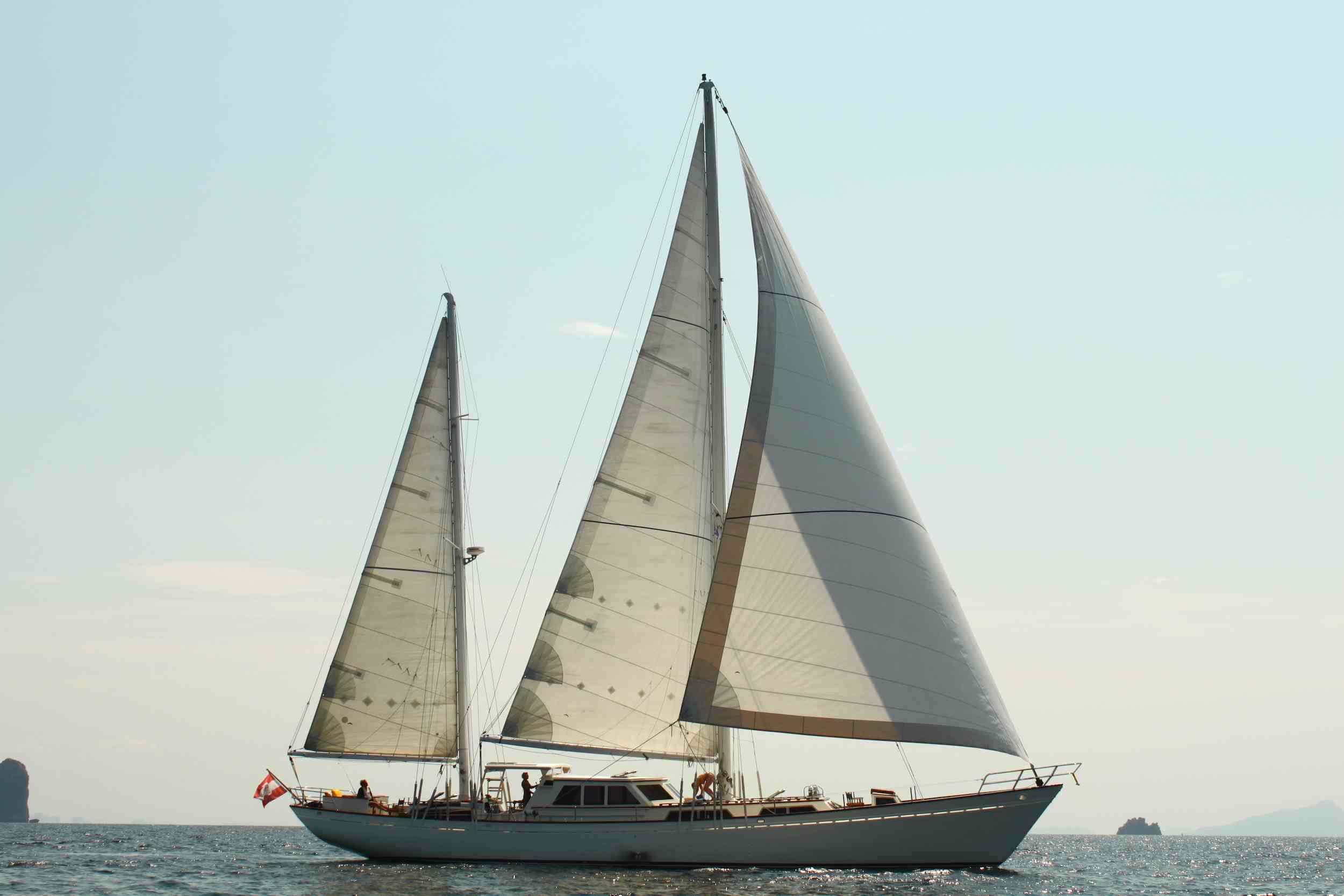 Meta IV, sailing 2