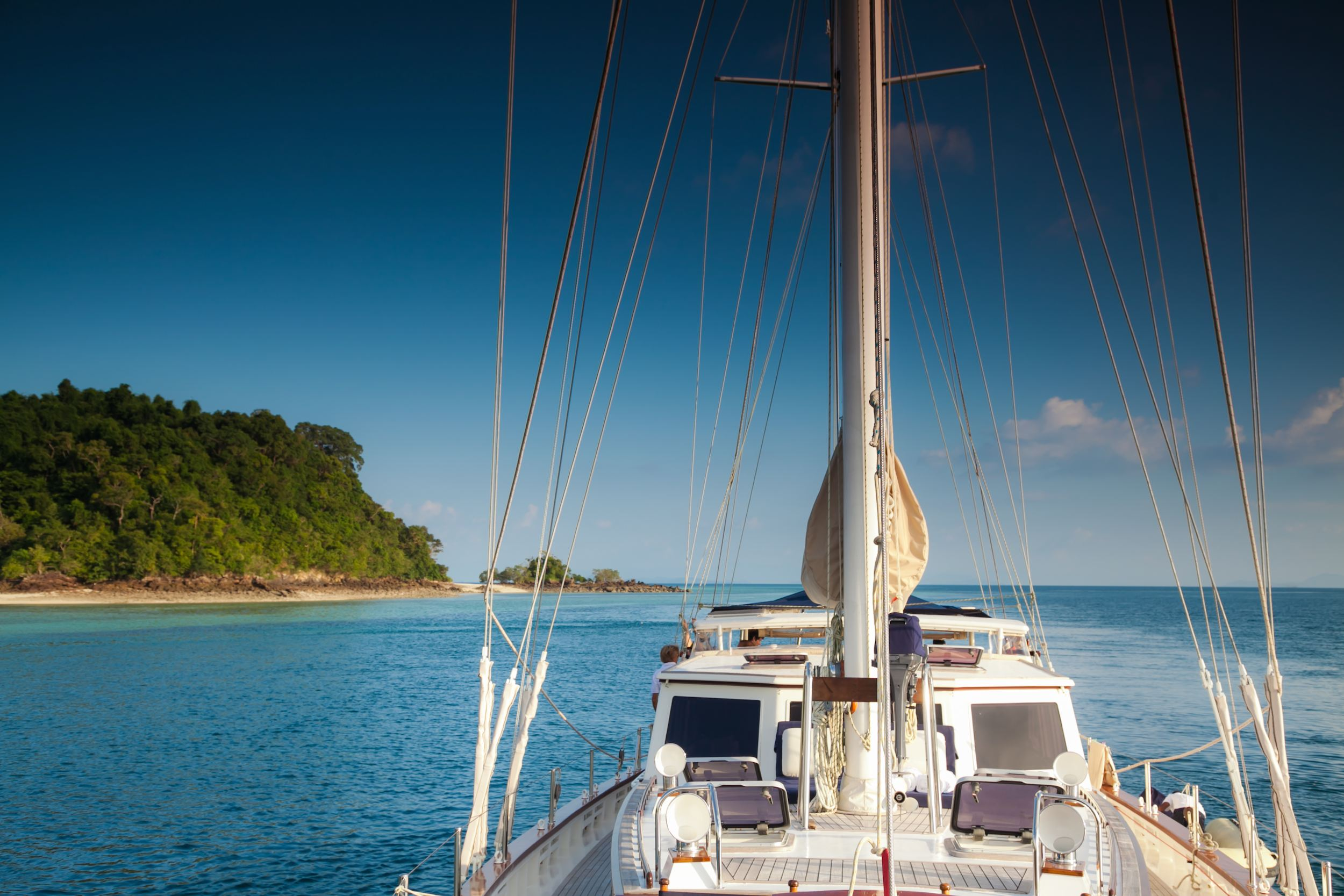 Sailing yacht in Burma at anchor in the Mergui Archipelago.jpg