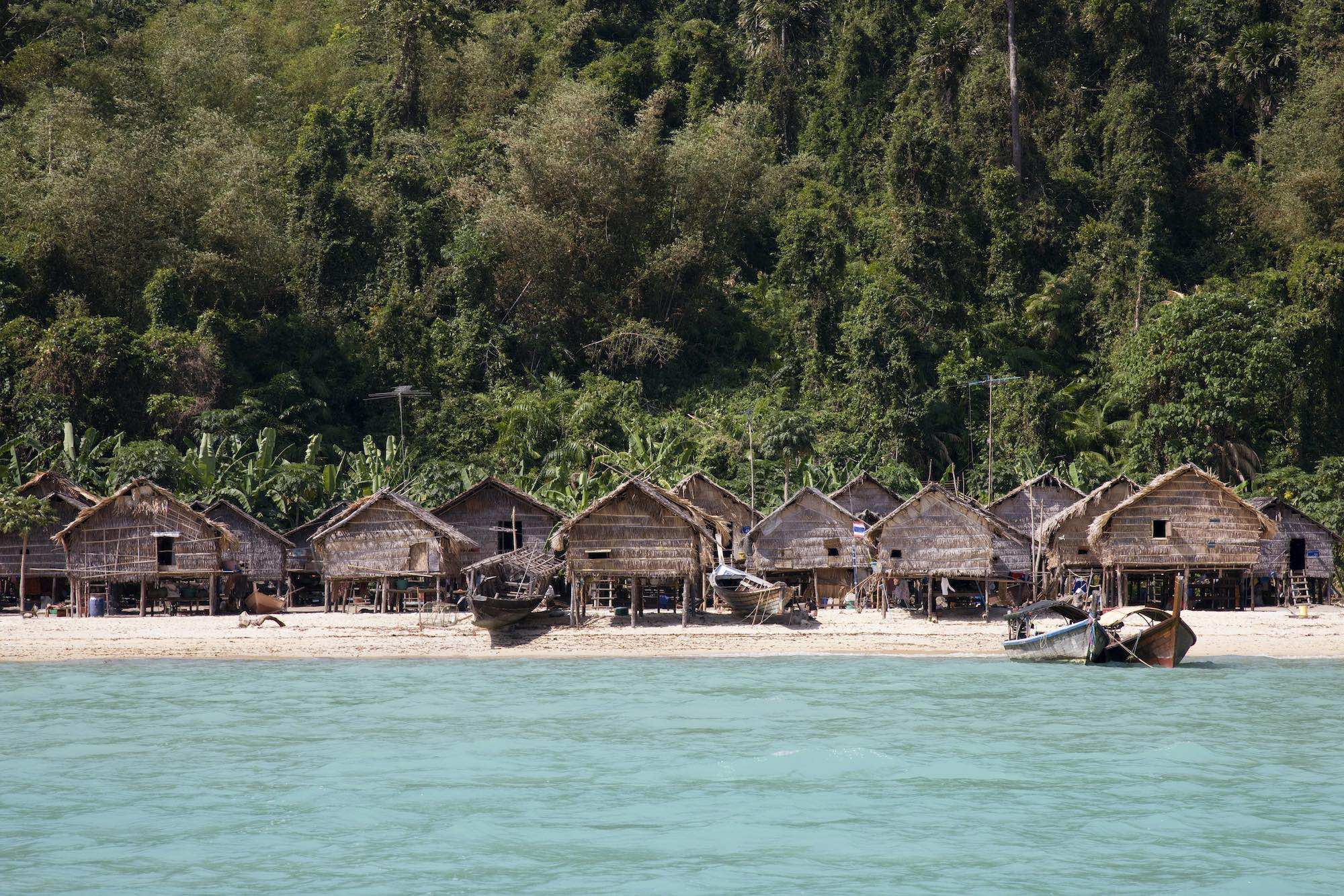 Au Bon Yai - the Moken village perched on the edge of the rainforest