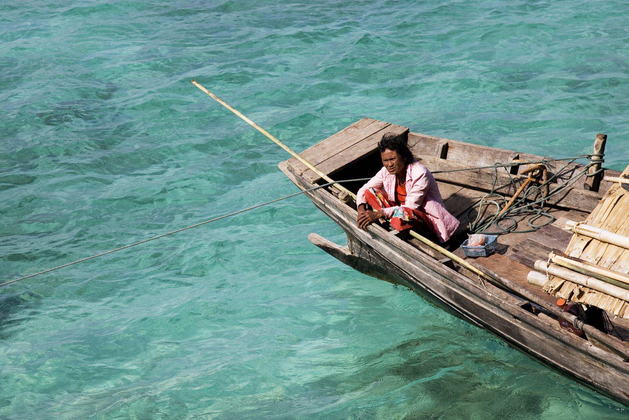 32.Sabai on the Kabang in the turquoise waters of the Andaman Sea.jpeg