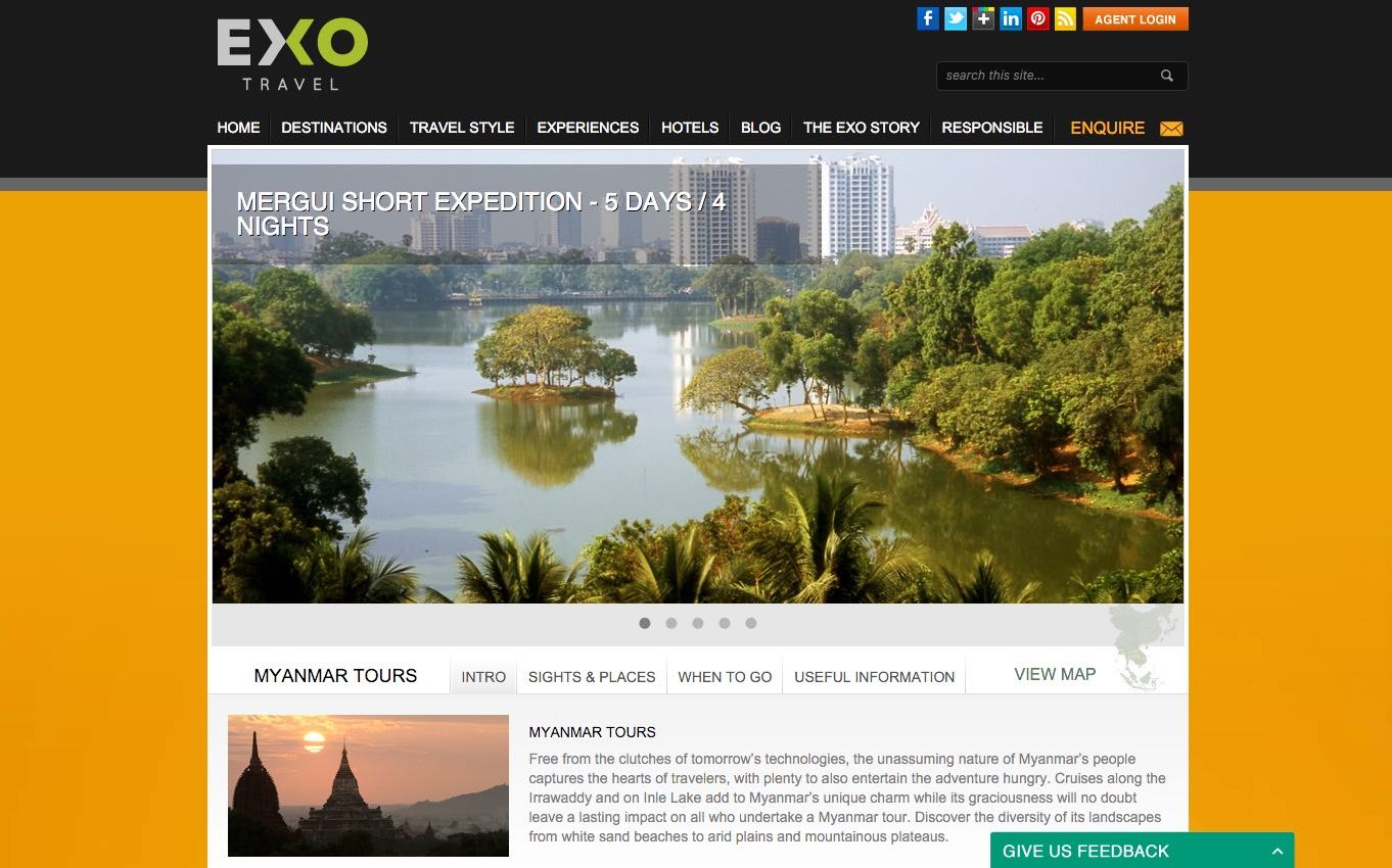 beaches, islands and sailing holidays in Myanmar - supported by exotissimo