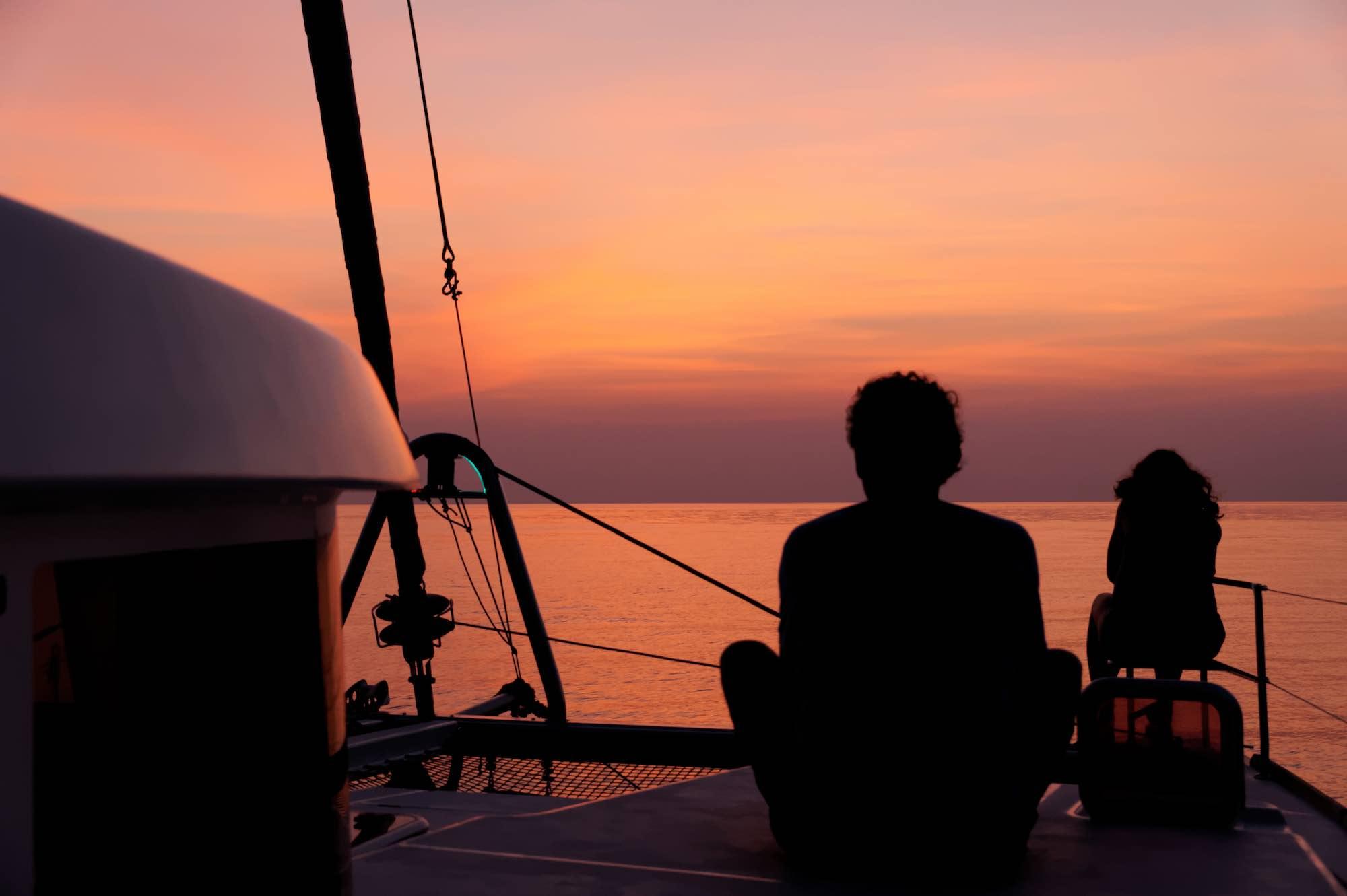 Meltemi anchoring at an Myanmar island in the sundown.jpg