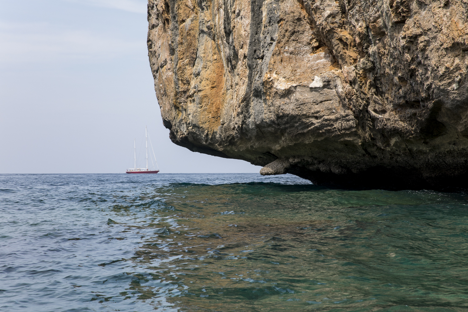 Aphrodite_anchoring near rock island sailing tour in Andaman Sea.jpg