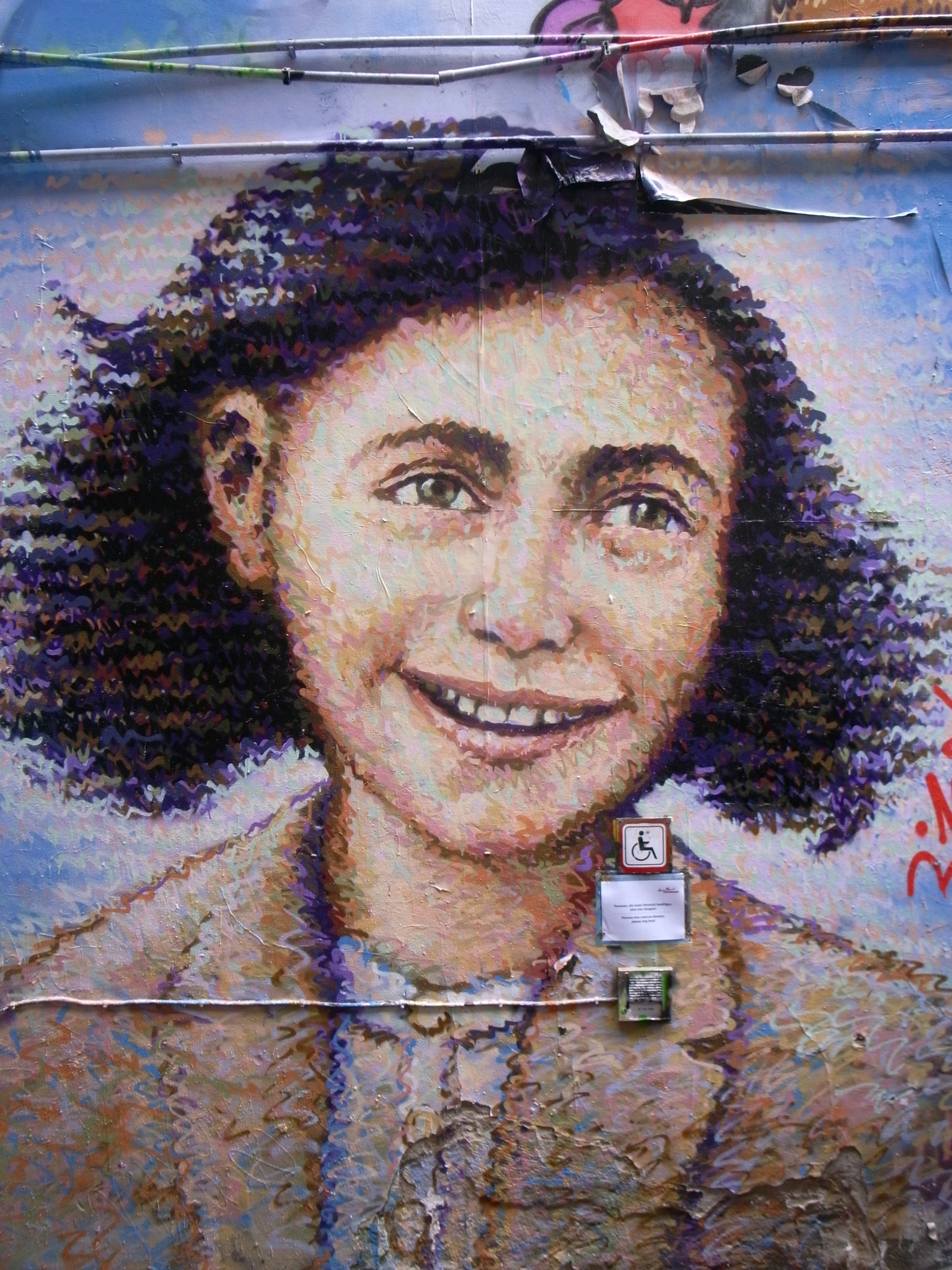 Jimmy C - Anne Frank - Berlin