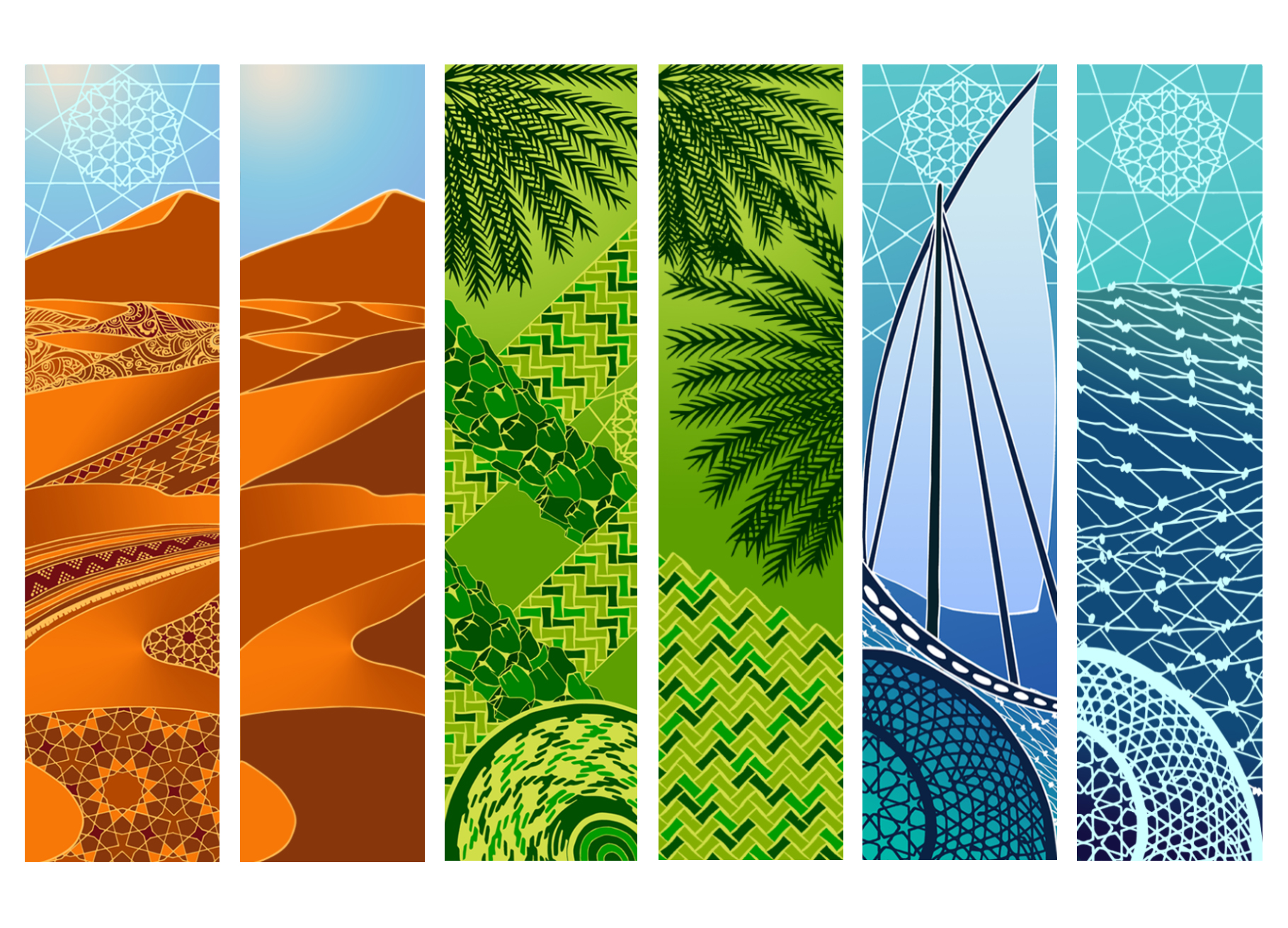 Artwork for UAE Day Parade - Milan Expo 2015