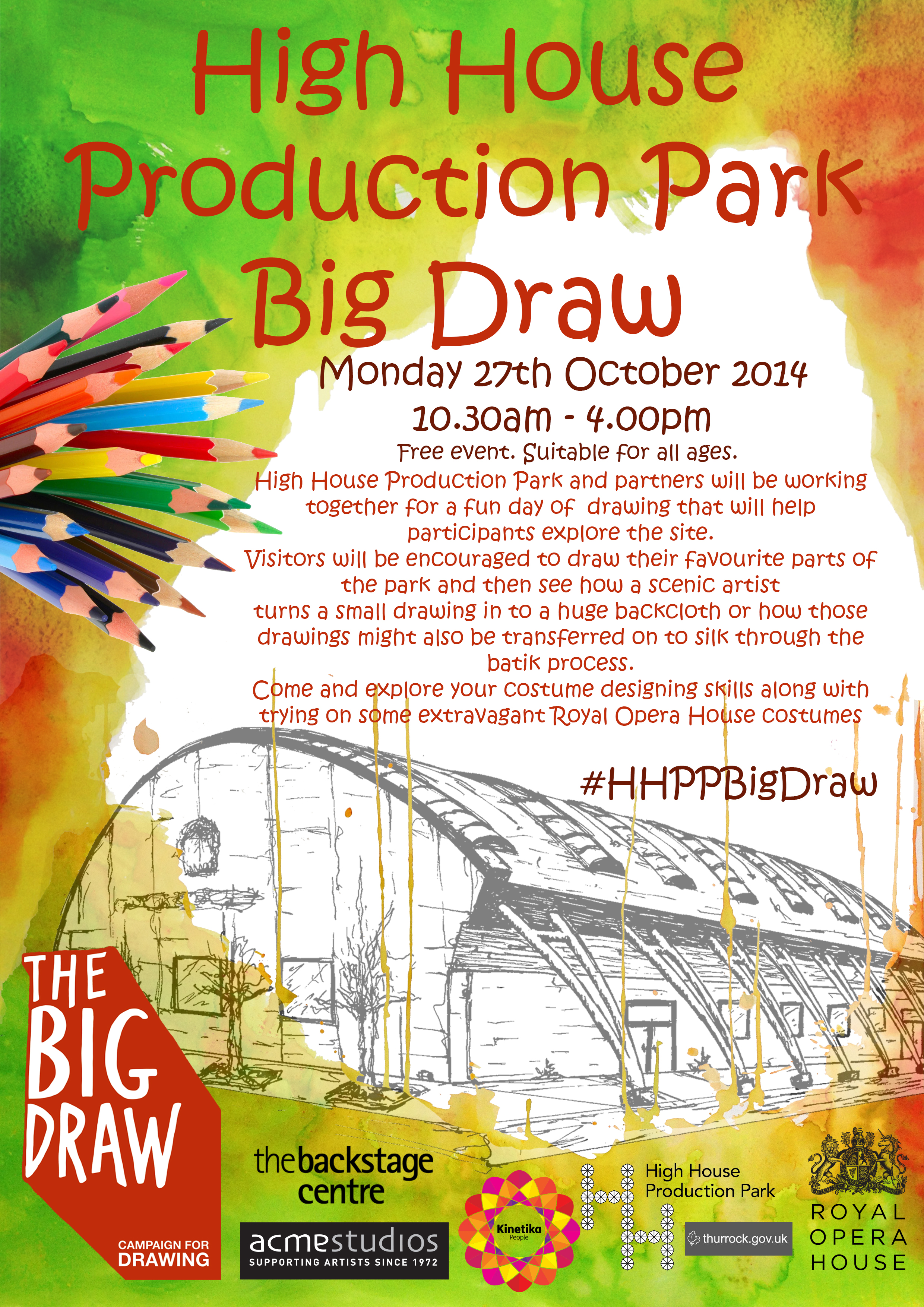 The Big Draw 2014 - Commission for High House Production Park