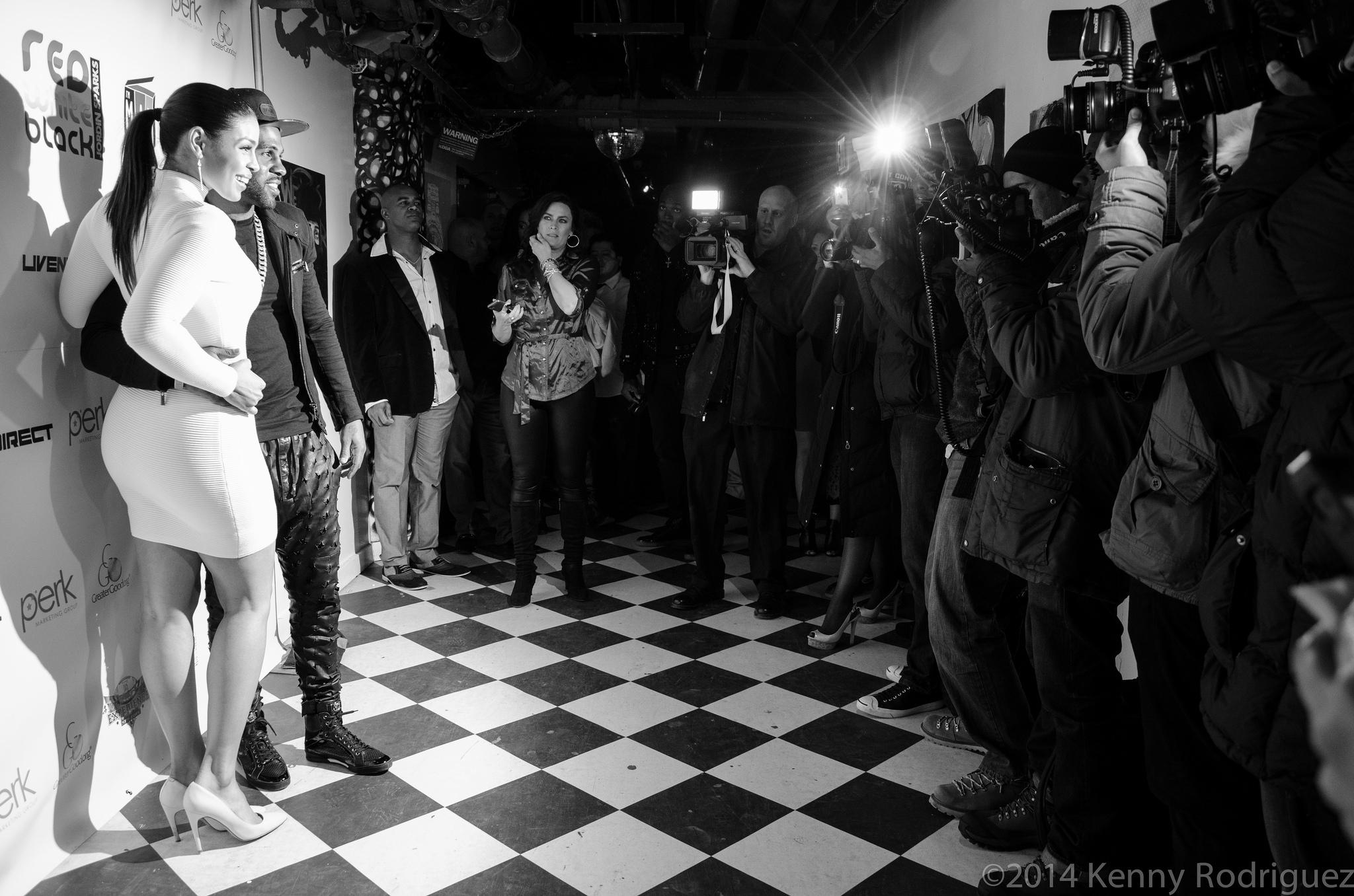 Jordin Sparks & Jason Derulo Welcom To New York Super Bowl Party