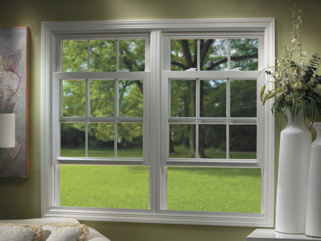Double hung windows in custom sizes and styles installed by Sentry in Cincinnati, OH.