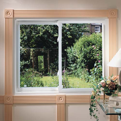 Sliding windows in custom sizes and styles from Sentry in Cincinnati, OH.
