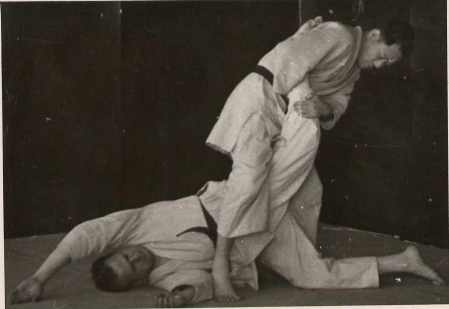 Judo Hold