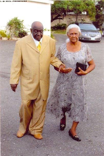 Maternal grandparents Vasco and Veronica Hendricks (née Gray).