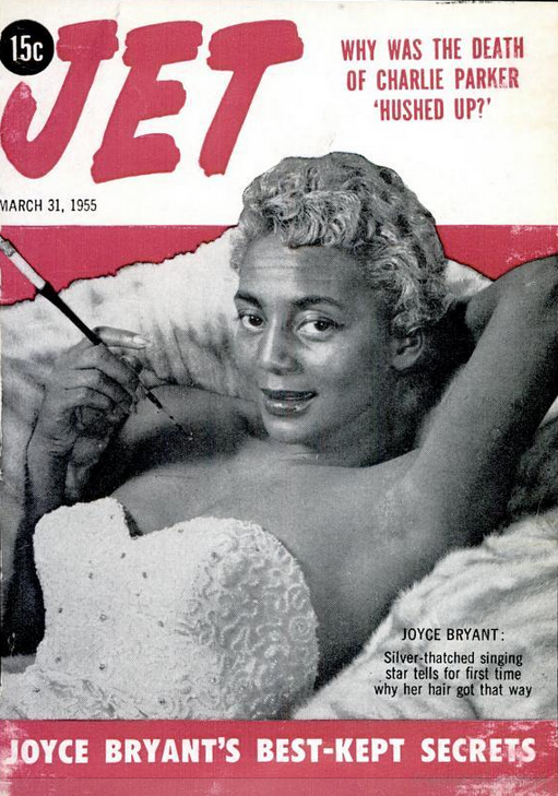 Joyce Bryant on the 1955 Cover of Jet Magazine