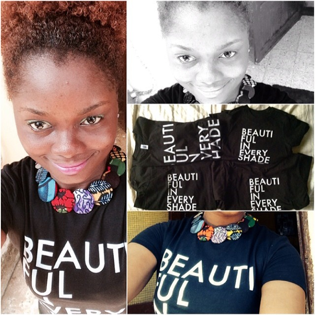 Just got the @50shadesofblack African edition T-shirts supply.....yay!!!! The BEST thing about these is...they are FREE.....and there's some for the KIDS!!!!  #50shadesofblack  African edition going nationwide! We are Promoting  #Sexuality  and  #SkinTone  in the  #Formation  of  #Identity  . Website:  www.50shadesofblack.com  @50shadesofblack  #Embrace  who you are. Rocking my tee at work today