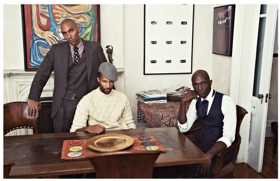The creators of Pink Rooster Studio,  André Verdun Jones, Khary Septh, Kyle Banks
