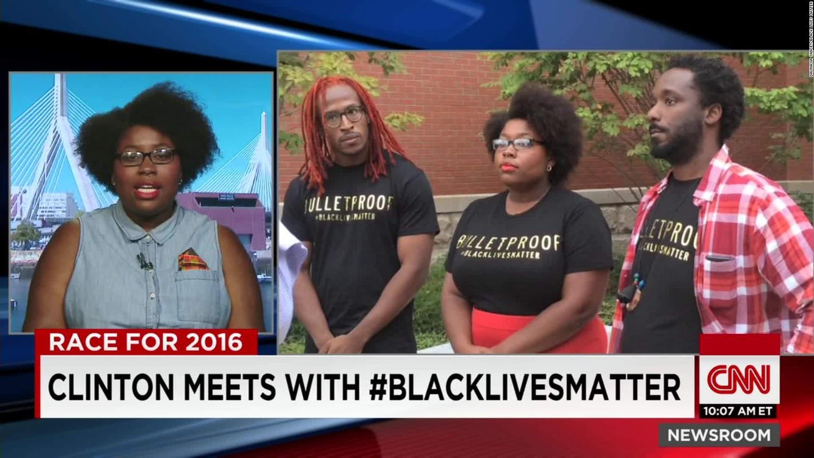 Daunasia Yancey a young, black, female, gay activist on CNN