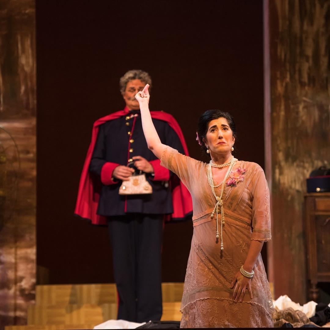 As Lauretta in  Gianni Schicchi  with Opera Delaware (2018)  Photo by Joe del Tufo